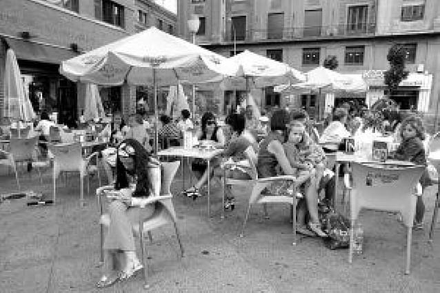 6.000 euros al año por sólo 3 meses de terraza