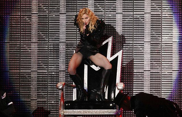 El público polaco sube a Madonna a los altares de la música