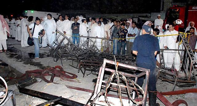 Un incendio en una boda de Kuwait causa 44 muertos