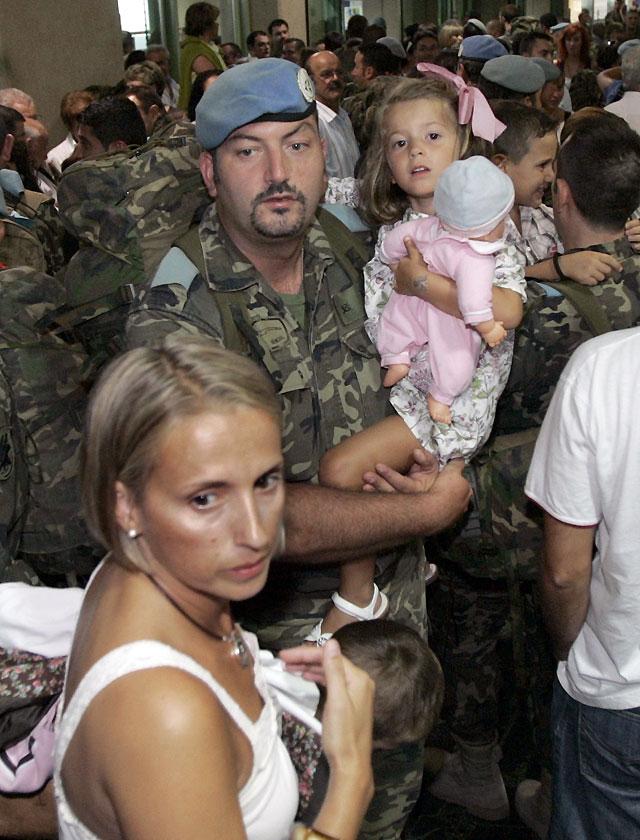 Regresan 140 soldados de la Brilat tras una misión de cuatro meses en Líbano