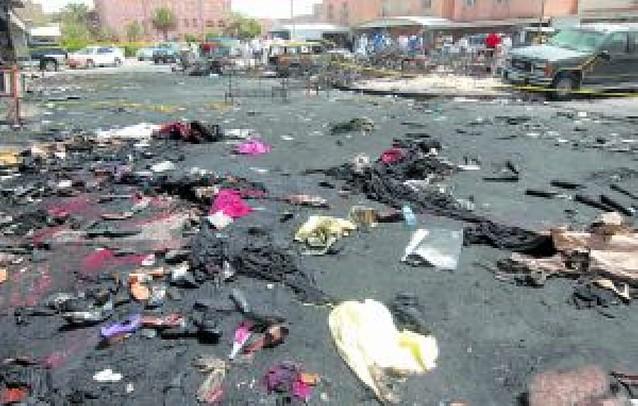 44 muertos en un incendio en una boda en Kuwait