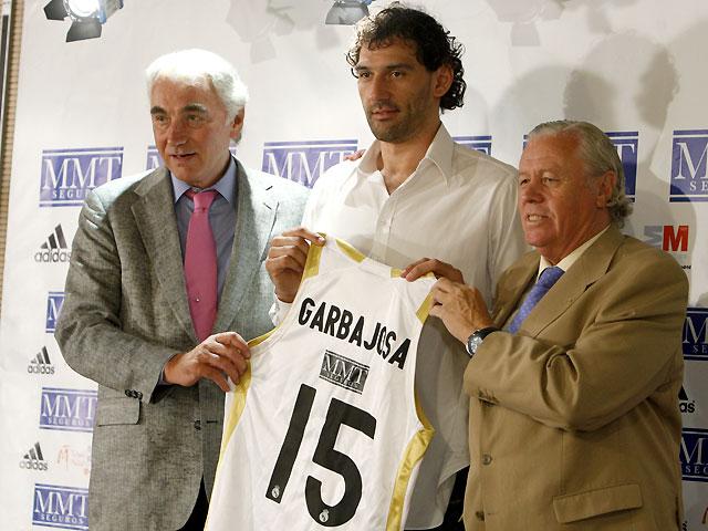 """Garbajosa: """"Cuando vi la opción de jugar en el Real Madrid, no me lo pensé"""""""