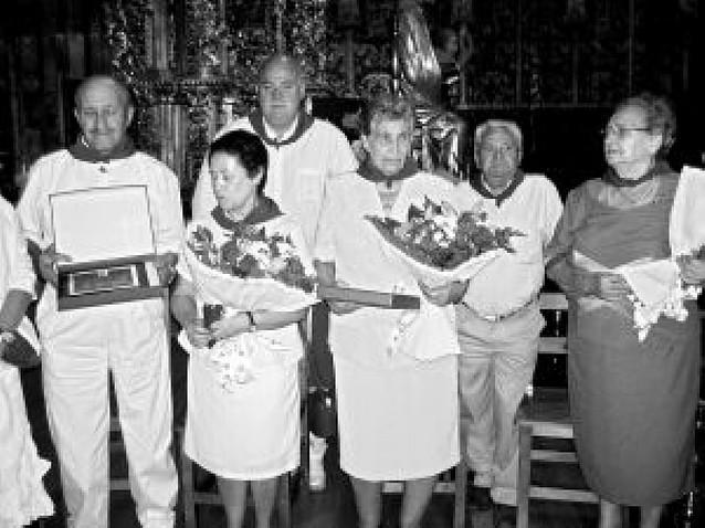 Los Arcos y Lerín aplauden a sus mayores con sendos homenajes