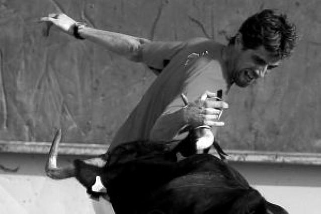 El debutante navarro Roberto Constanza, segundo en las anillas
