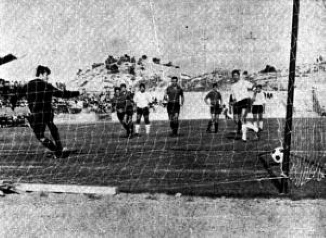 El estadio Elola de Tudela cumple 40 años