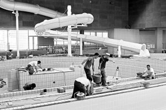 Tudela reabre de forma parcial sus piscinas cubiertas a falta de la zona de hidromasaje