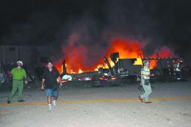 Un incendio deja sin luz a Corella una hora y media y provoca daños materiales