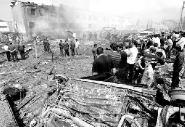 Al menos 20 muertos en un atentado suicida en un edificio de la policía en Ingushetia