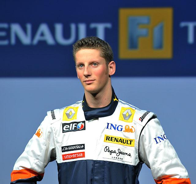 El francés Grosjean se convierte en el segundo piloto de Renault F1