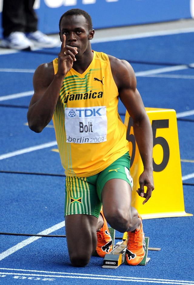 Bolt gana dormido su serie de 200
