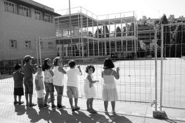 Comienzan las obras de ampliación del colegio Elvira España
