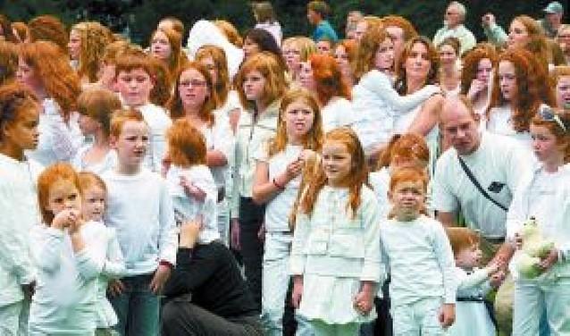 Día de los pelirrojos en Holanda