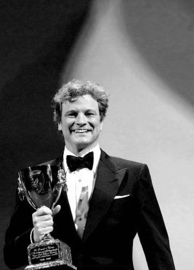 La Mostra consagra a Colin Firth