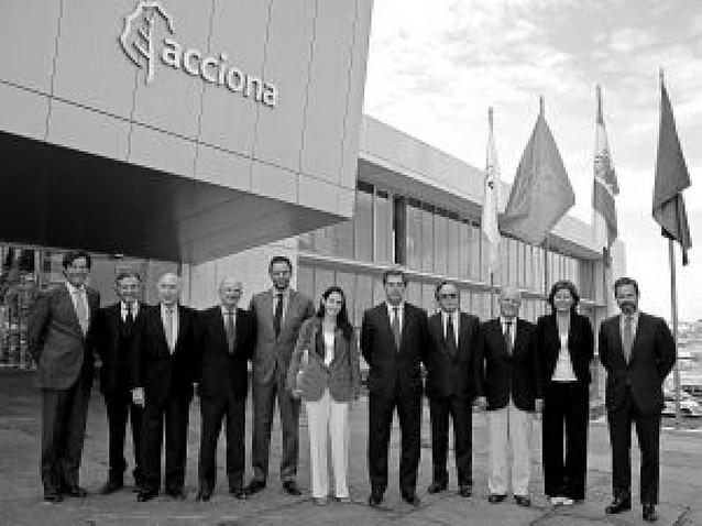 El consejo de Acciona se reunió ayer por primera vez en Sarriguren