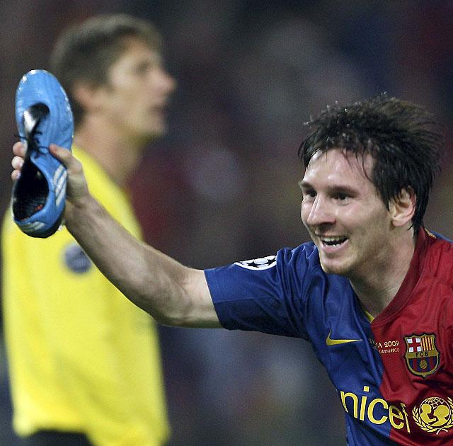 Leo Messi amplía dos años más su contrato con el Barcelona