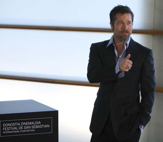 """Brad Pitt: """"En el plató, Tarantino es Dios"""""""