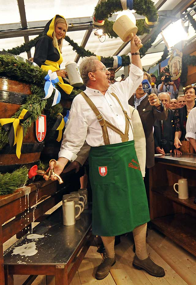 Arranca en Múnich la Oktoberfest