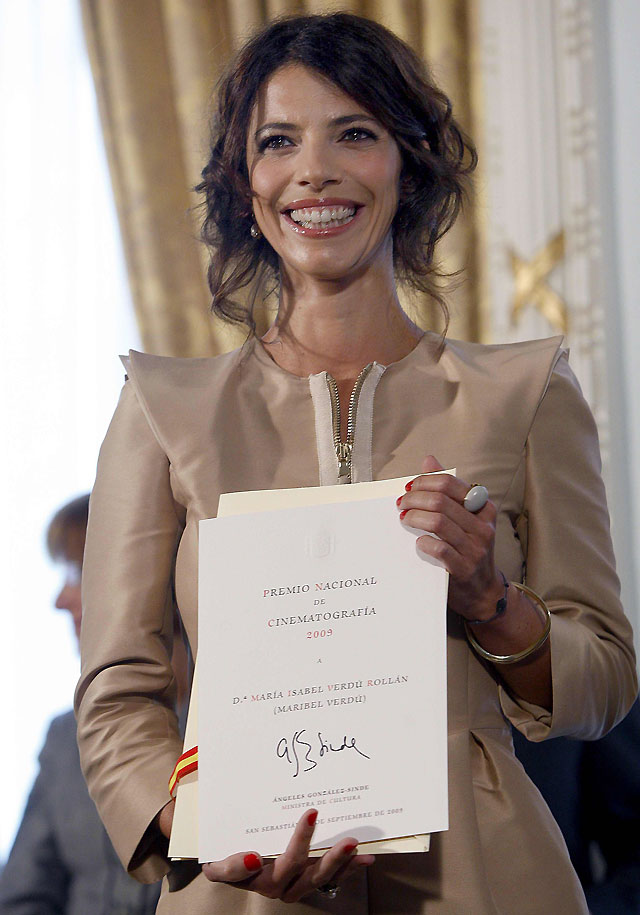 "Maribel Verdú: ""Hoy he vuelto a pensar que tengo buena estrella"""
