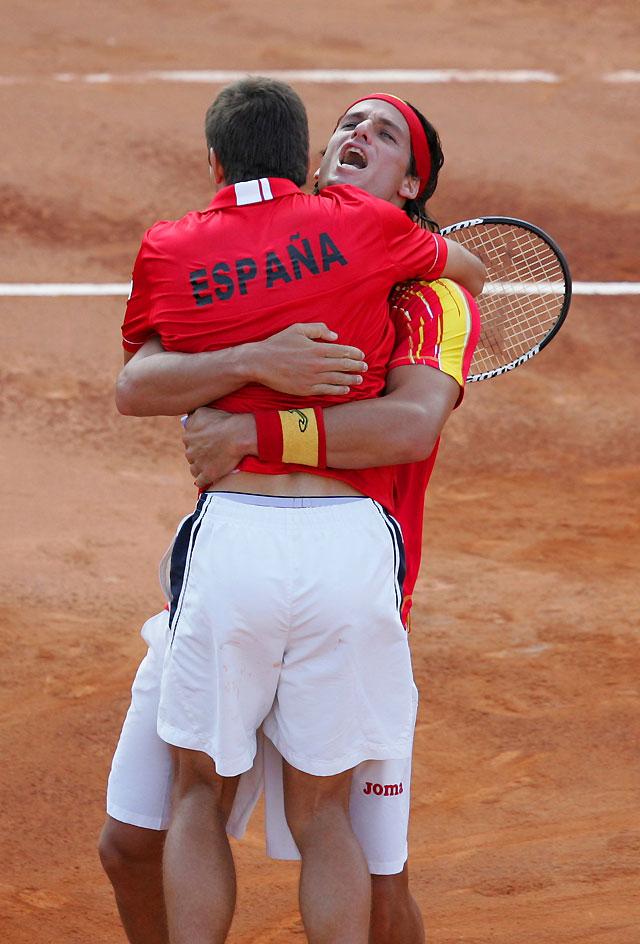 España defenderá en dobles el título de la Copa Davis tras vencer a Israel