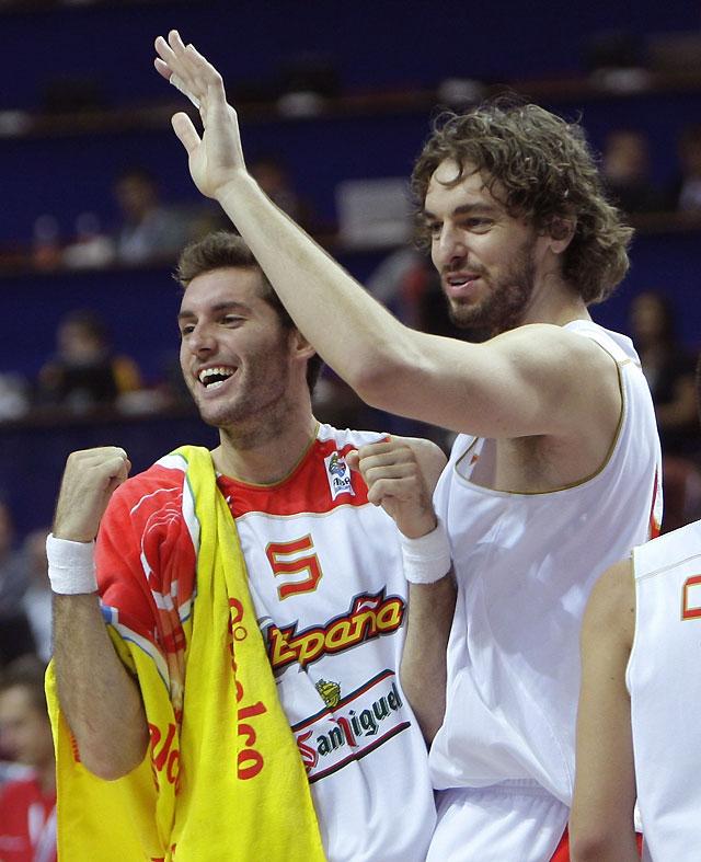 La selección española de baloncesto roza la perfección ante Grecia y sueña con la medalla de oro en el Europeo (82-64)