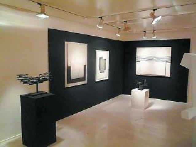 Doce artistas en blanco y negro en la muestra de Fermín Echauri