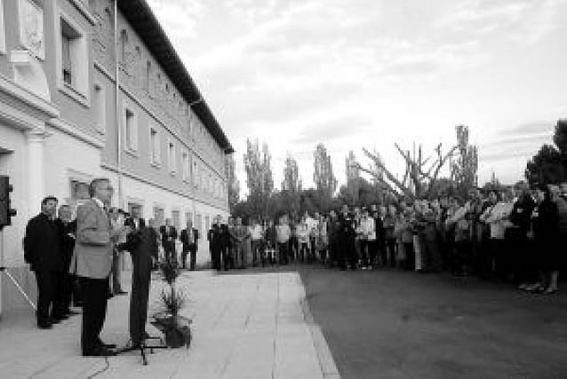 Corella inaugura una hospedería en el Villar que tiene fines solidarios