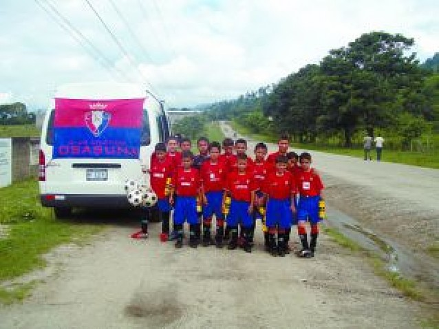 Triunfo de Osasuna San Antonio de Nicaragua