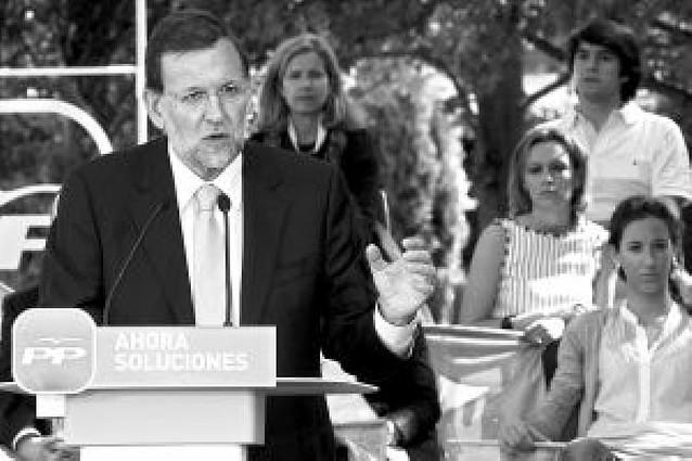 Rajoy se reunió ayer en Génova con dirigentes del PP navarro