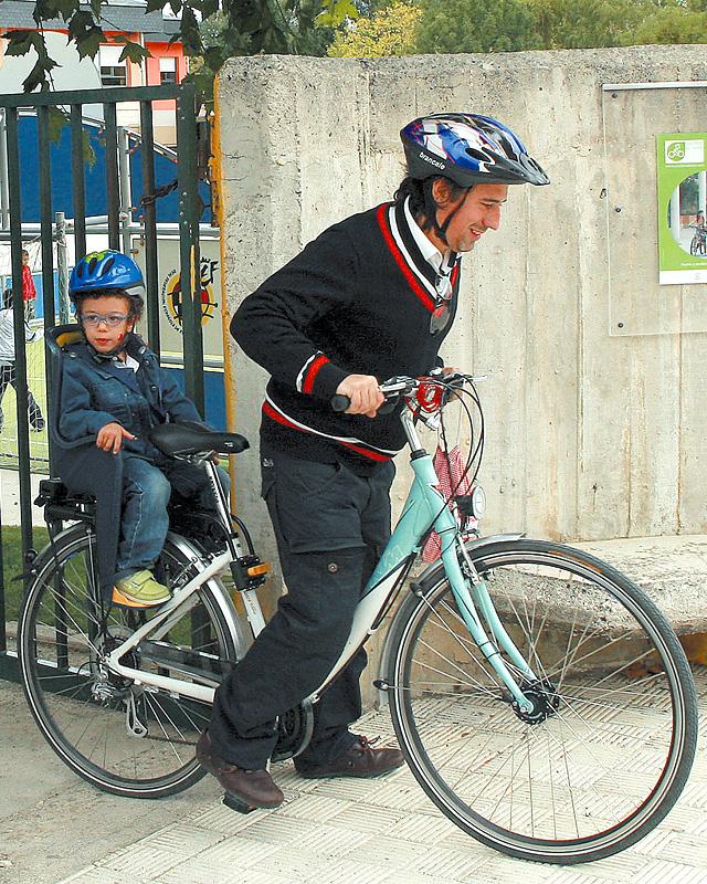 Puntos por utilizar la bicicleta