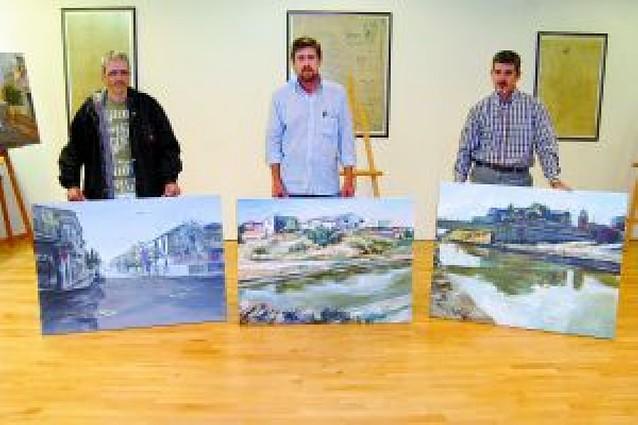 Rafael González, de Corella, gana el concurso de pintura al aire libre