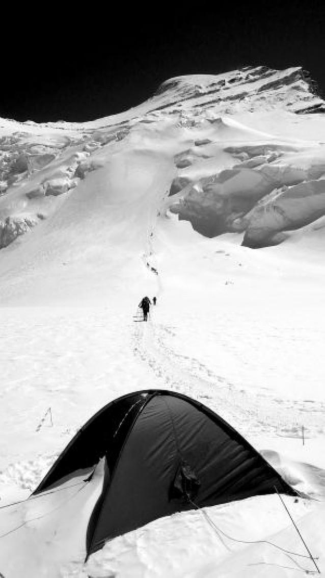 Hacia la cima del Cho Oyu