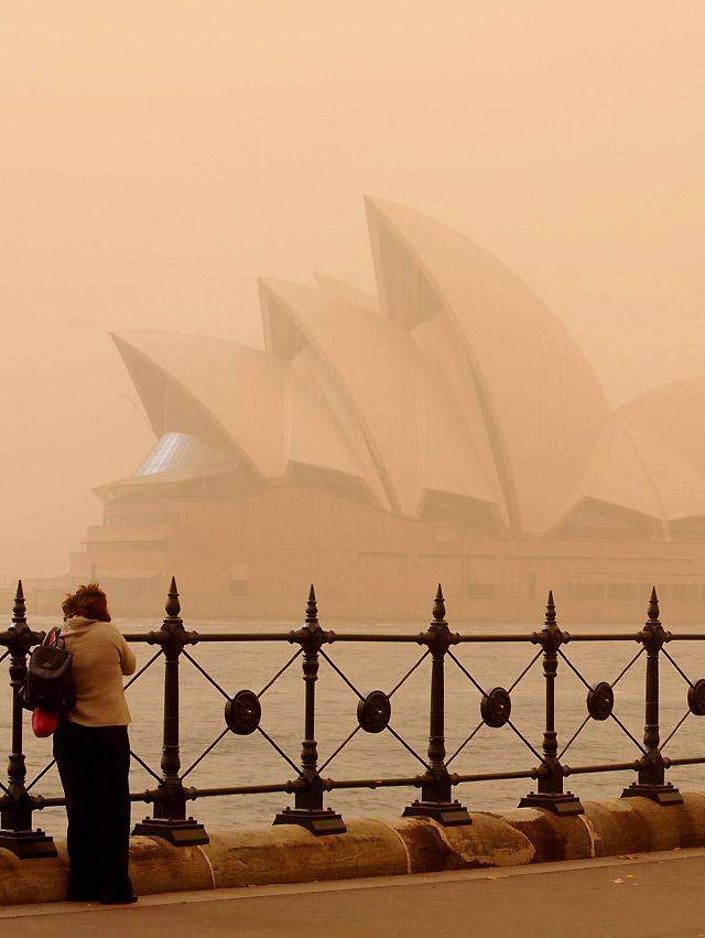 Sidney sufre su peor tormenta de arena de los últimos 67 años