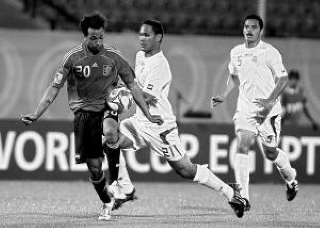 España se da un festín ante Tahití en el Mundial