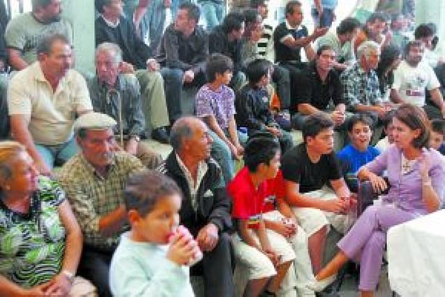 Fiesta pelotari de la asociación San Fermín de los Gitanos