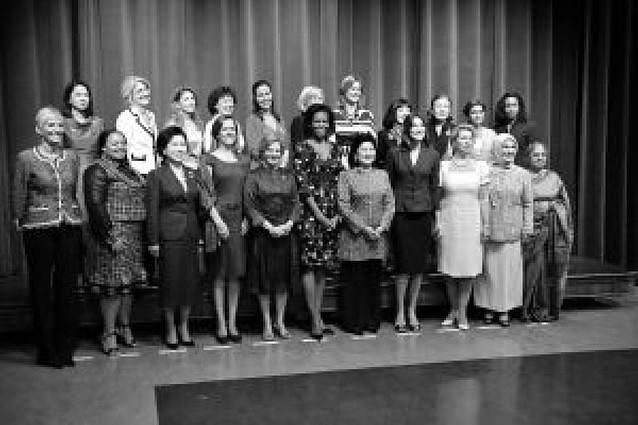 La cumbre de las primeras damas
