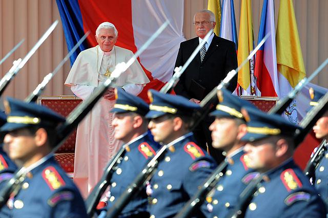 El Papa comienza su visita pastoral a la República Checa