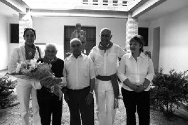 Homenaje al matrimonio formado por Emilio Sánchez y Carmen Bodón