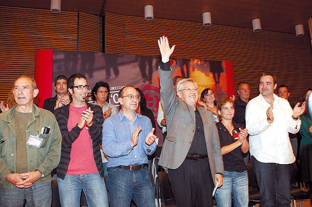 Patxi Zabaleta, reelegido coordinador general de Aralar con un 64% de apoyo