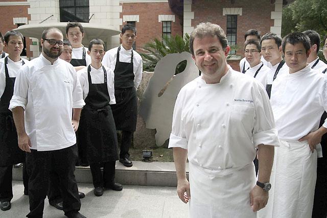El cocinero Berasategui abre su primer restaurante en China