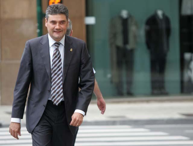 """Burguete insiste en que """"CDN no tiene por qué rectificar"""" su decisión sobre la Ley del Vascuence"""