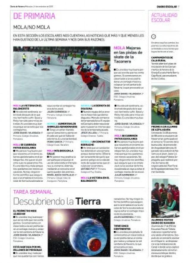 Diario Escolar se renueva y salta a la Red