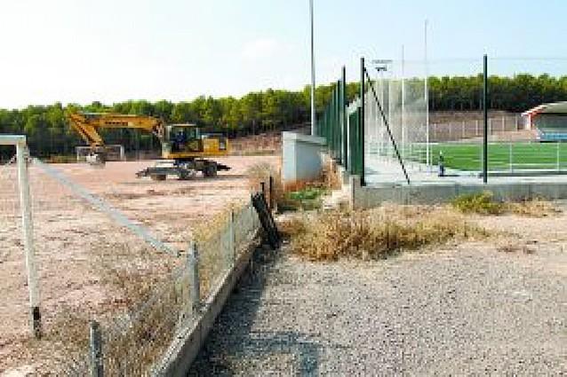 Tudela inicia con un coste de 1,2 millones su segundo campo de hierba artificial