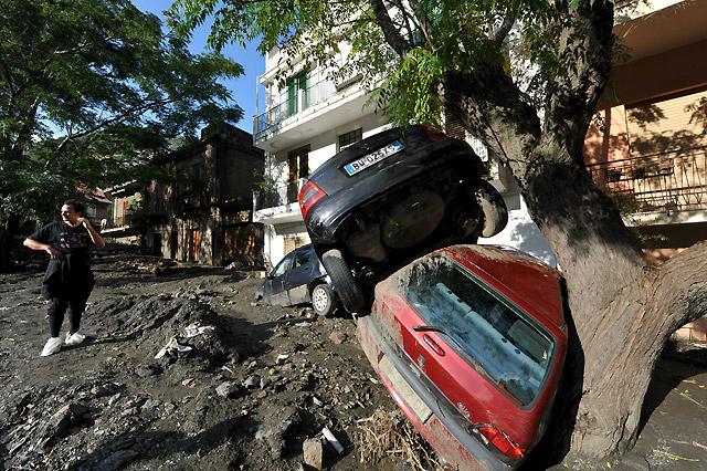 Un temporal causa 21 muertos en la isla italiana de Sicilia