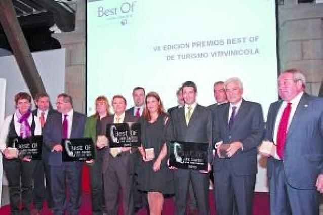 Entrega de premios Best of de turismo vitinícola