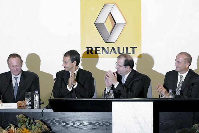 Renault asegura el futuro de la planta de Valladolid durante los próximos diez años