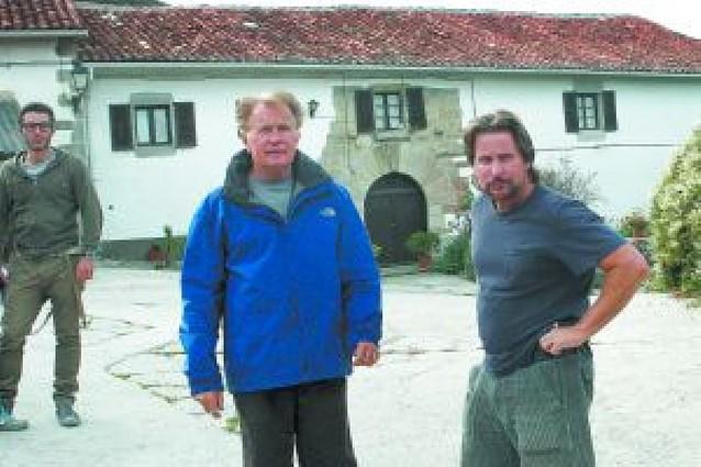 Martin Sheen, peregrino en Akerreta