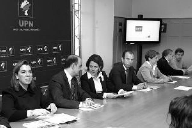 """Barcina critica en la ejecutiva de UPN las """"filtraciones"""""""