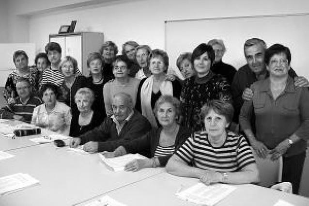 El club de jubilados de San Adrián imparte un curso sobre cómo envejecer