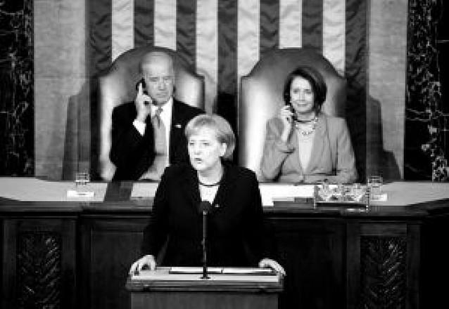 """Angela Merkel dice que Europa y EE UU tienen que ser """"aliados firmes"""""""