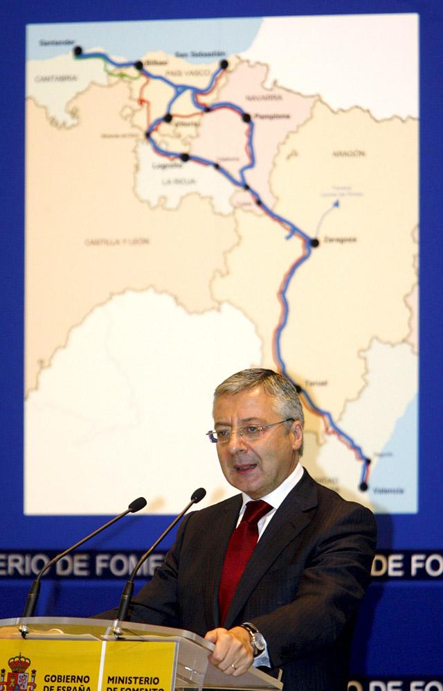 Presentado el corredor del TAV Cantábrico- Mediterráneo sin avances para Navarra